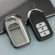 For Honda <b>Smart Car</b> Key Fob Cover Case Holder Protector ...
