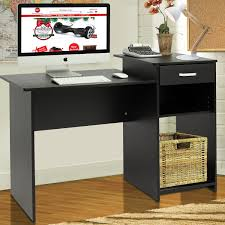 amazoncom best choice products student computer desk home office wood laptop table study workstation dorm bk office products black home office laptop
