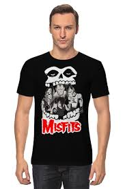 <b>Футболка классическая Misfits</b> band #679174 от Leichenwagen по ...