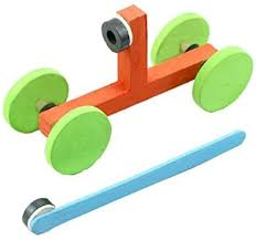 lala dream Magnetic Car Experiments <b>DIY Small Production</b> ...