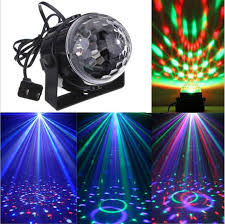 <b>110V 220V Mini RGB</b> LED Crystal Magic Ball Stage Effect Lighting ...