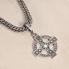 Серебряный кулон ''Кельтский крест'' <b>ФИТ</b> 67041-<b>f</b> — купить в ...