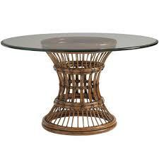 round dining table base: tommy bahama bali hai latitude dining table base