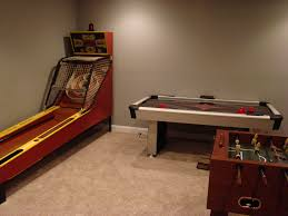 unfinished basement game room ideas bedroom comely excellent gaming room ideas