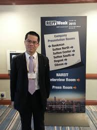 internships add value to mba the crosby mba blog the crosby mba blog hien at reit week in new york