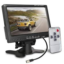 Esky Backup Camera Monitor <b>7 Inch</b> Rearview Reversing <b>TFT LCD</b> ...