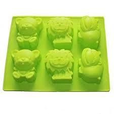 X-Haibei Jungle Zoo <b>Animals</b> Shaped Soap Bar <b>Silicone Mold</b>