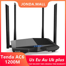 <b>Tenda AC6</b> AC1200 Smart Dual Band WiFi Router WI FI Repeater ...