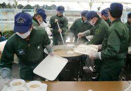Image result for 自衛隊の缶詰試食コーナー