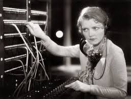 vintage everyday 20 vintage photos of women telephone operators young w working as a telephone operator ca 1930s