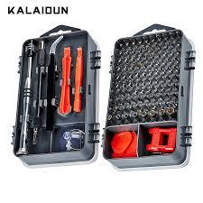 KALAIDUN 112 in 1 Screwdriver Set Magnetic Screwdriver Bit Torx ...