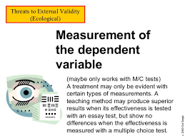 What is Internal Validity in Research    Definition  amp  Examples     However  in February       a study by the New York Times found an anomaly in the distribution of scores on five representative Regents Exams