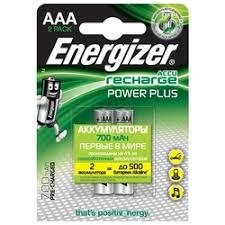 «<b>Аккумулятор Energizer</b> Ni-MH <b>Power Plus</b> AAA 700мАч BL2 ...