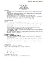entry level nursing assistant resumes template entry level nursing assistant resumes