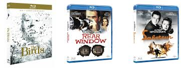 monday blu e s and dvd hope lies at frames per second miscellaneous hitchcock blu ray s the birds rear window and saboteur are all released on blu ray today they re individual repackaging s of the discs