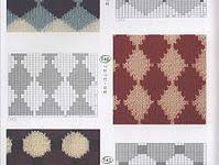 Лучших изображений доски «Жаккард»: 166 в 2019 г. | Knitting ...