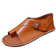 Women's Summer Sandals Retro Buckle-Strap ... - Amazon.com