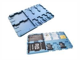 <b>Футляр REFI Holder SD</b> / microSD SIM Light Blue | www.gt-a.ru