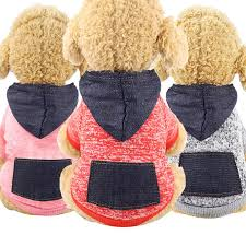 Jean Pocket Pet Dog Sweater Dog Clothes <b>Winter Puppy Dogs</b> ...