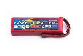<b>Аккумулятор nVision LiPo</b> 11.1V 3S 30C 3700mAh (Deans-T-Plug ...
