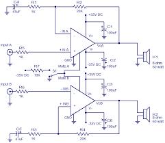 2x60 watt amplifier using lm4780 electronic circuits 2x60 watt amplifier using lm4780