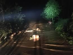 Rize'de taşan dere köprü yıktı: Bir aile mahsur kaldı