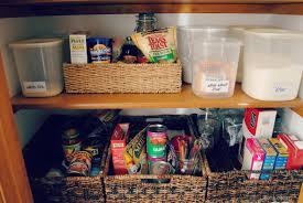 kitchen pantry baskets shelves