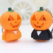 <b>Cute Halloween LED</b> Light Keyring Sound Flashlight Keychain Key ...
