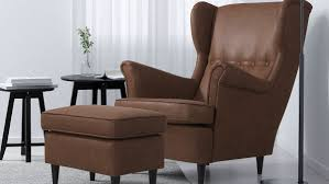 <b>Faux</b>-<b>Leather Armchairs</b> - IKEA