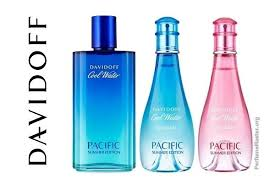 <b>Davidoff Cool Water Pacific</b> Summer Edition Perfume Collection ...