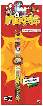<b>Часы</b> наручные детские Mixels, цвет: серый. MX34564