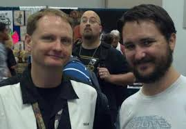 Shane Lacy Hensley with Wil Wheaton at GenCon. Image courtesy of Shane Lacy Hensley. - shanehensley
