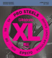 Комплект <b>струн</b> для бас-<b>гитары D'Addario EPS190</b>