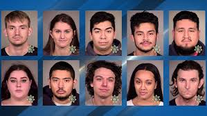 Police arrest 14 people during <b>street racing</b>, stunting in Portland ...