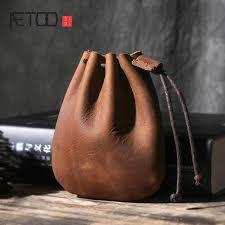 <b>AETOO</b> Retro handbags leather first layer cowhide ladies shoulder ...