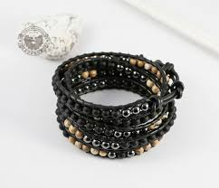 BS551 <b>Мужской браслет</b> «Чан Лу» из натуральных камней ...