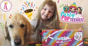 Куклы хлопушки <b>Party Pop Teenies</b> с конфетти и сюрпризами