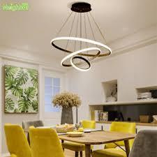 <b>Creative Modern</b> Home Living Dining Room Hanging Circle Rings ...