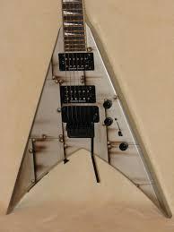 jackson kv5fr king v electric guitar w floyd rose tremolo and jackson kv5fr king v electric guitar w floyd rose tremolo and hard shell case