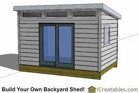 12x12 modern backyard office shed plans backyard office shed home