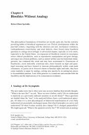 analogy essaybioethics without analogy   springer inside