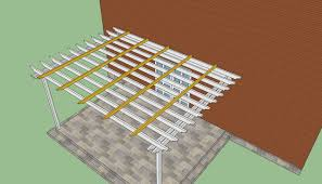 How to build a pergola attached to the house   HowToSpecialist    Attached to house pergola