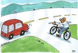Ujko na bicykli má prednosť...ALE.....dostane ju?