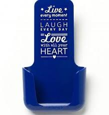 YOU·P® YOU·P® smartphonehouder | blauw | Live Laugh Love ...