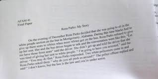 rosa parks essay unc athlete essay on rosa parks gets aminus unc player wrote this paper on rosa parks and somehow still got an unc player wrote