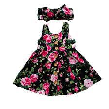 <b>Waiwaibear</b> Summer Sleeveless Girls Dress <b>Baby Girl</b> Clothes ...