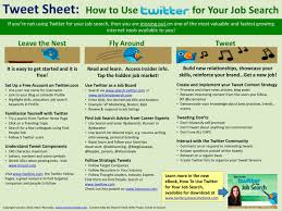 the tweet sheet how to a job on twitter desktop the tweet sheet how to a job on twitter desktop reference guide how to use twitter for your job search