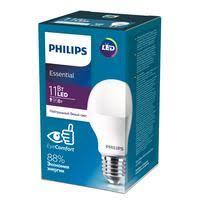 <b>Лампа светодиодная Philips</b> 11 Вт <b>E27</b> грушевидная 4000 К ...