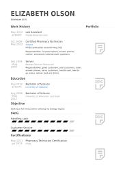 lab assistant resume samples   visualcv resume samples databaselab assistant resume samples