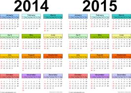 2014 2015 calendar printable two year word calendars template 1 word template for two year calendar 2014 2015 landscape orientation
